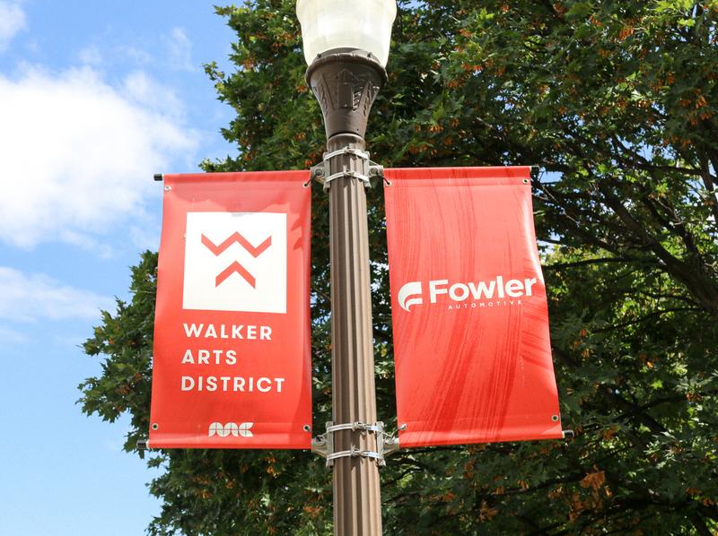 Walker Arts District Banners