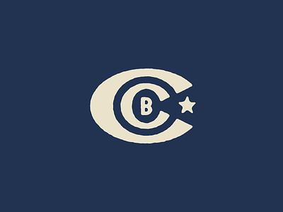 CCB Lockup logo vector type oklahoma identity brand branding texture design typography