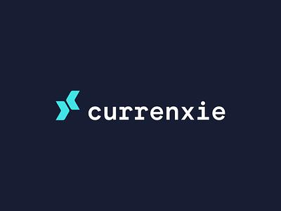 Unused Concept fintech money finance type identity brand branding design icon logo typography