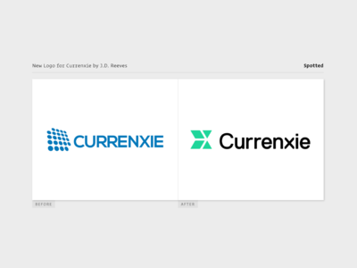 Currenxie Logo Spotted