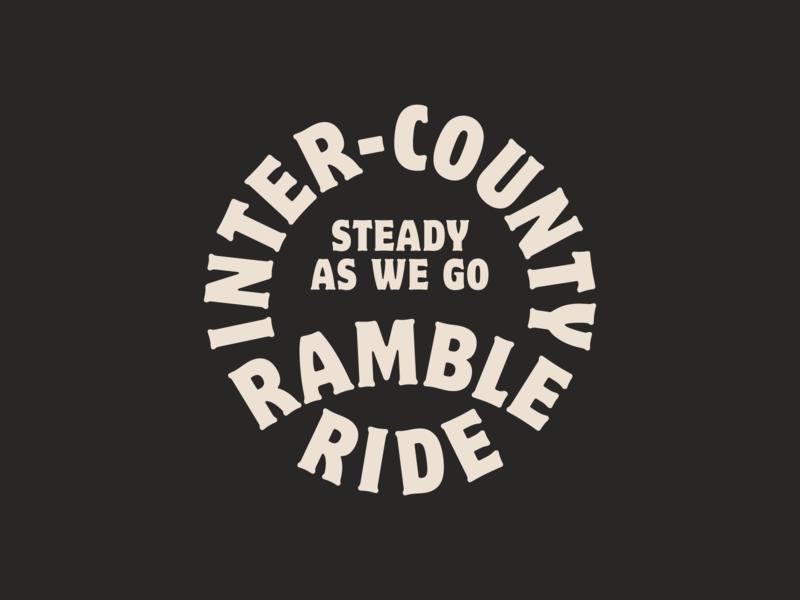 Inter-County Ramble Ride logo