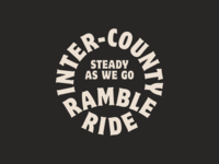 Inter-County Ramble Ride logo