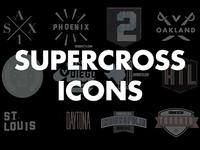 Vurb Supercross Icons (Full Set)