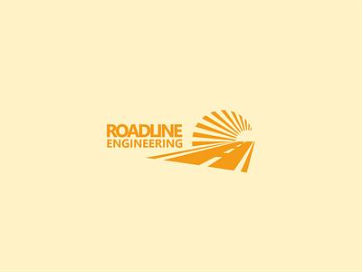 Road marking service logo create minimalism simple minimalistic for logotype brandbook design business branding brand logo