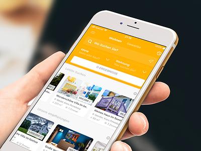 Real Estate Listings App (Immobilien App) wohnung real estate property miete listings immobilien house gewerbe app anzeige