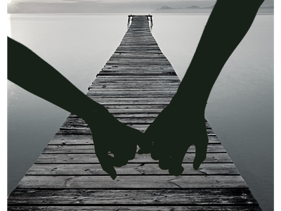 BW Holding Hands couples holding hands black and white photo composition canva photoshop photo manipulation photography design