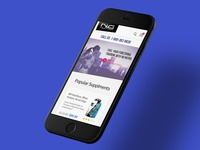 Nutritional Supplement Company - eCommerce Mobile