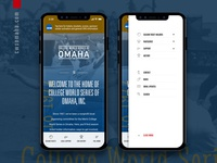 NCAA, College of World Series of Omaha Website