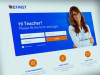 EFINST E-Learning Website