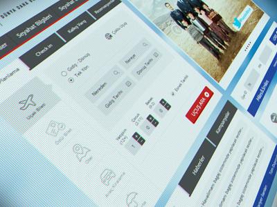 Turkish Airlines Website Redesign ux ui interface design art still life responsive website airlines e-commerce