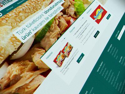 Kerevitaş Corporate Website corporate food website responsive still life art design interface ui ux