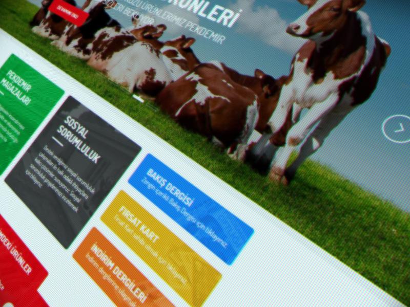 Pekdemir Corporate Website corporate farm natural e-commerce