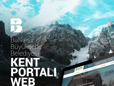 Balikesir Kent Portalı Website ux ui casestudy presentation responsive website web