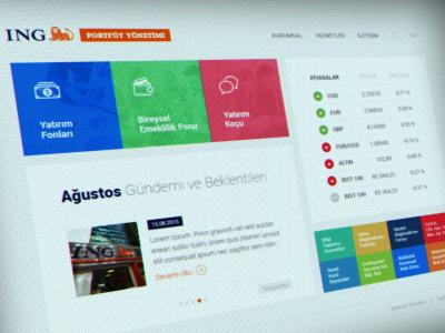 ING Bank Portföy Yönetimi metro website finance bank