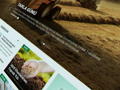 Toros Tarım Web Design farm corporate flat presentation art direction ux ui