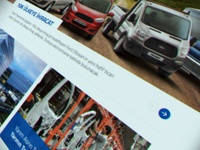 Ford Otosan Web Design