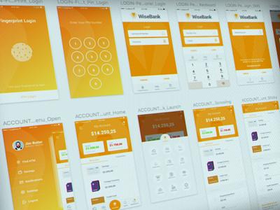 Albaraka - Mobile Banking App ReDesign art direction ux ui casestudy app finance banking mobile