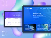 Ixirhost Website Redesign