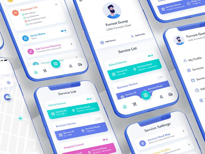 Gumper Service Planner App
