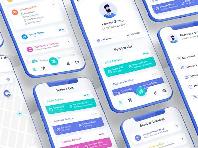 Gumper Service Planner App service app school app mobile app mobile ux ui