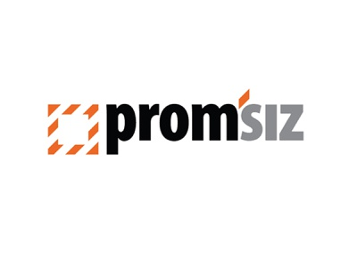 Brand PromSIZ logo illustration design branding