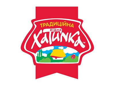 Brand HATINKA logo illustration design branding