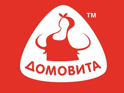 Brand DOMOVITA typography branding illustration design