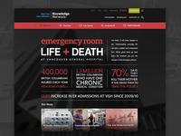Emergency Room Website