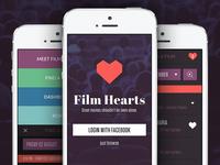 Film Hearts Web App