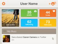 iPhone App User Screen