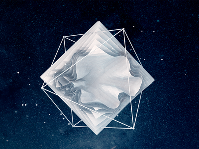 Geometric Work in Progress abstract after effects c4d cinema4d geometric low-poly 3d
