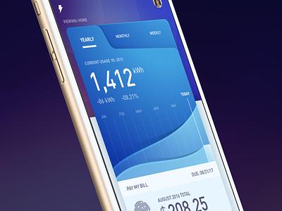 Utility App Dash Close Up