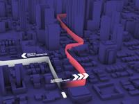 Nighttime 3D Map