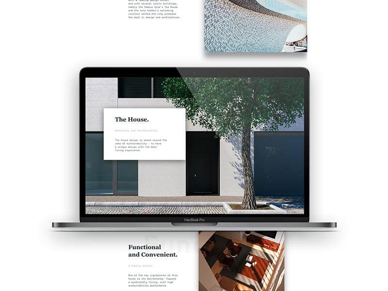 Casa Tomaz Ribeiro part III architecture web animation editorial design