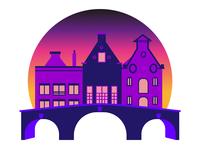 Amsterdam City Badge