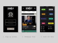 Web App Design - UI UX