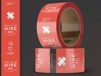 Custom Packaging Tape - UX Agency Brand