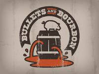 Bullets & Bourbon logo