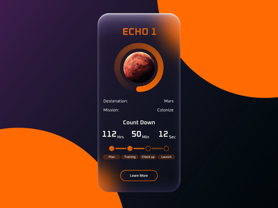 Daily UI #014 - Timer Count Down mobileapp ux ui design