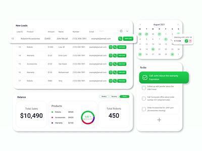 Daily UI #021 - Dashboard web ux ui design