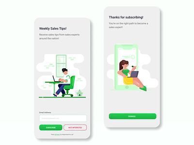 Daily UI #024 - Sign Up Form mobileapp ux ui design