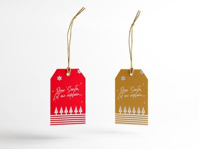 Dear Santa tag