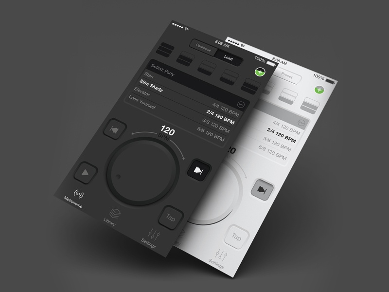 The Metronome App by Soundbrenner by Simon Apostolski | Dribbble
