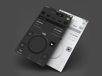 The Metronome App by Soundbrenner ios ux ui