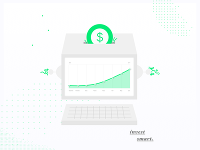 Ok Computer robo advisor illustration compound interest fintech investment
