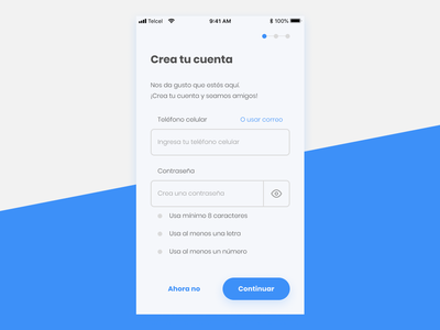 Lets Be Friends form create account signup uidesign