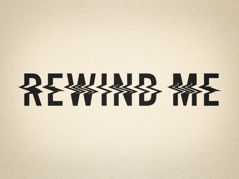 Rewind me #2 cassette distortion vhs