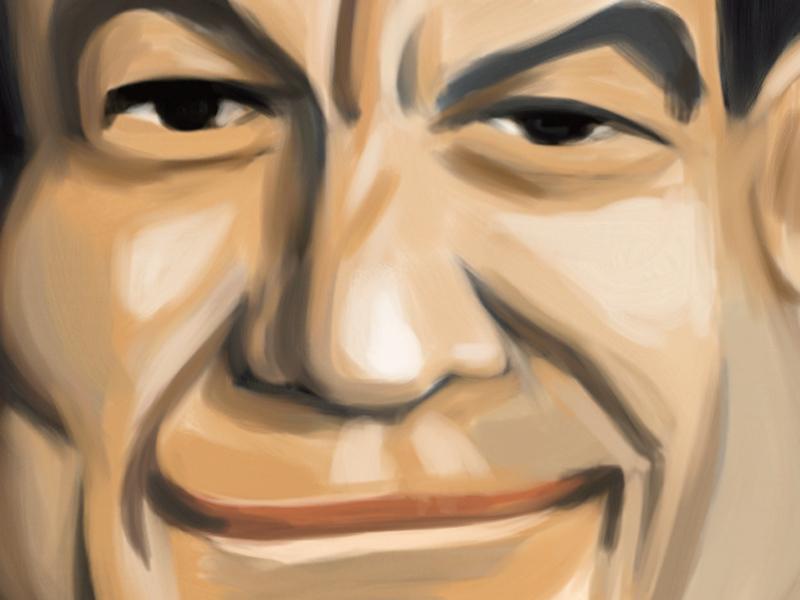 Mas caricature portrait corel painter