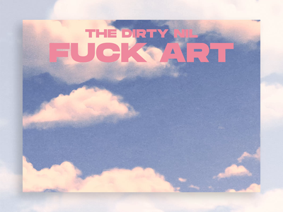 Fuck Art adobe after effects after effects punk music ui micro interaction animation motion design motion graphics motion landing page web design website dine alone records the dirty nil fuck art