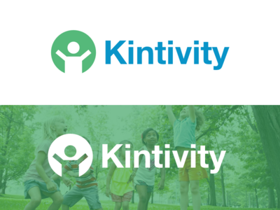 Kintivity Logo hackathon children kids logo